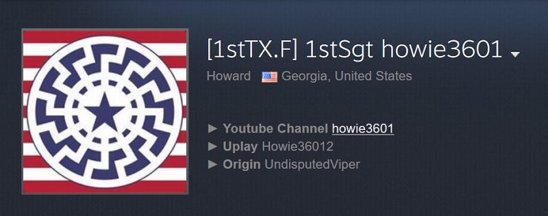 howie3601 steam profile